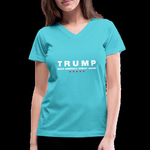 Official Trump 2016 - Women's V-Neck T-Shirt