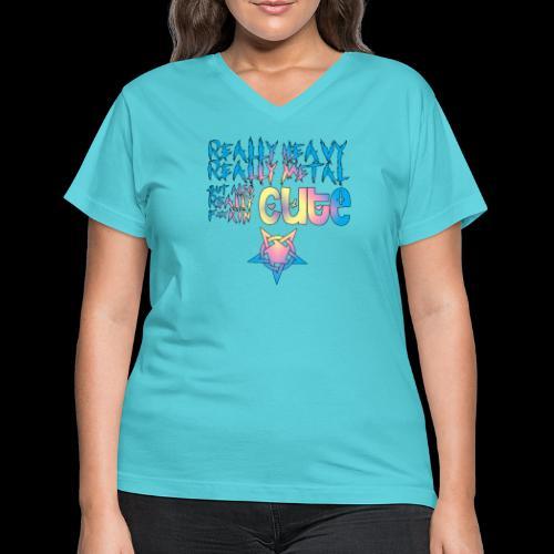Really Cute - Women's V-Neck T-Shirt