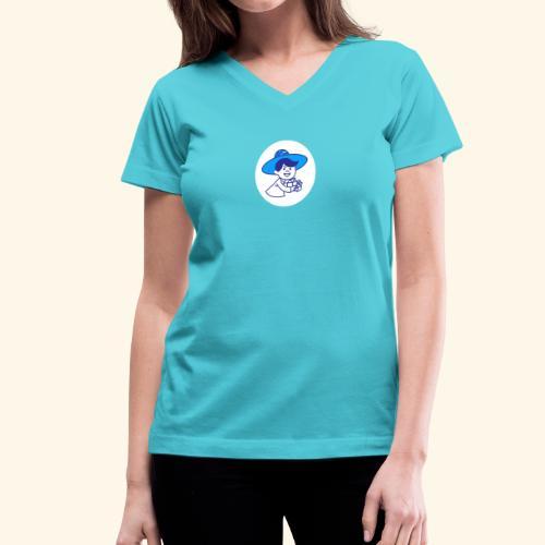 El Chichero - Women's V-Neck T-Shirt