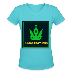 YouTube Channel gifts - Women's V-Neck T-Shirt