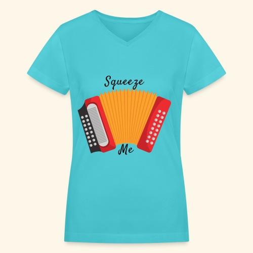SQUEEZE me - Women's V-Neck T-Shirt