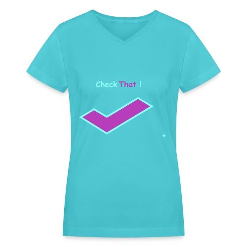 Regular Shirt - Women's V-Neck T-Shirt