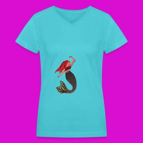 Mermaid dream - Women's V-Neck T-Shirt