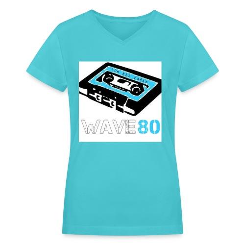 Alt Logo - Women's V-Neck T-Shirt