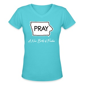 A New Birth of Freedom - Women's V-Neck T-Shirt