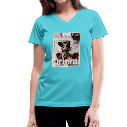 Hardcore2 - Women's V-Neck T-Shirt
