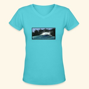 Indo Dream - Women's V-Neck T-Shirt