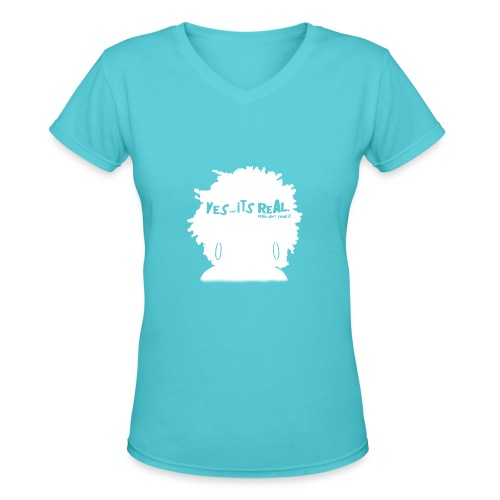 Don't Touch - W - Women's V-Neck T-Shirt