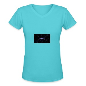 Nc Bassin Tv - Women's V-Neck T-Shirt
