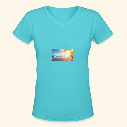Feels - Women's V-Neck T-Shirt