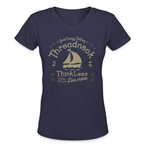 thinklesss png - Women's V-Neck T-Shirt