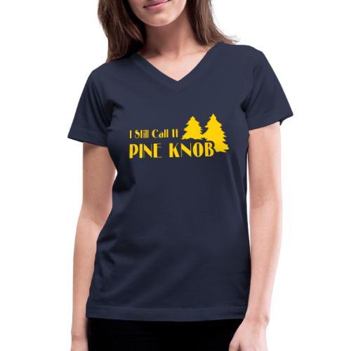 Pine Knob - Women's V-Neck T-Shirt