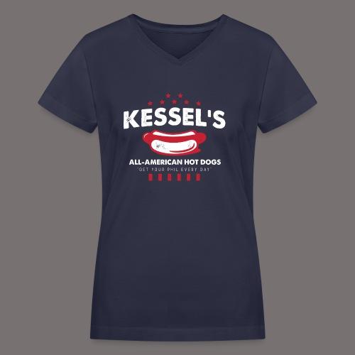 Kessel USA - Women's V-Neck T-Shirt