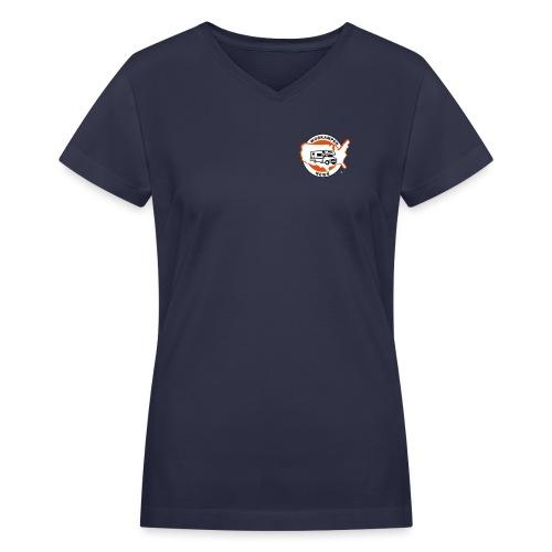 WKN-Logo-EPS1 - Women's V-Neck T-Shirt