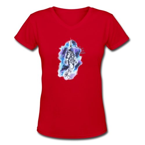Get Me Out Of This World - Women's V-Neck T-Shirt