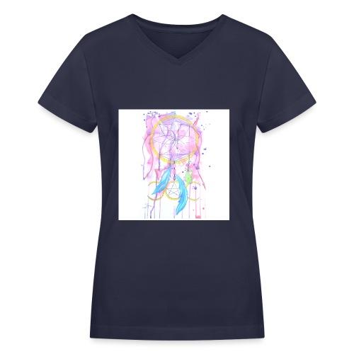 Earth Women s Gathering - Women's V-Neck T-Shirt