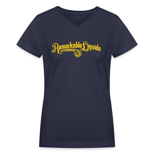 Untitled-4 - Women's V-Neck T-Shirt