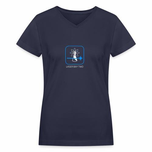 Laser Bay Two - Women's V-Neck T-Shirt