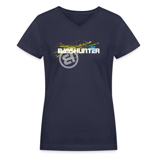 Basshunter 7 - Women's V-Neck T-Shirt