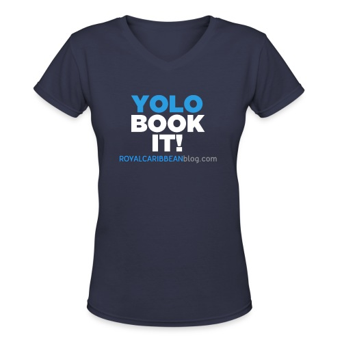 png - Women's V-Neck T-Shirt