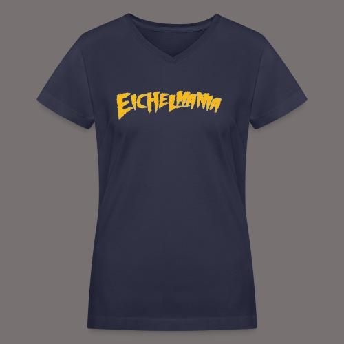 Eichelmania - Women's V-Neck T-Shirt