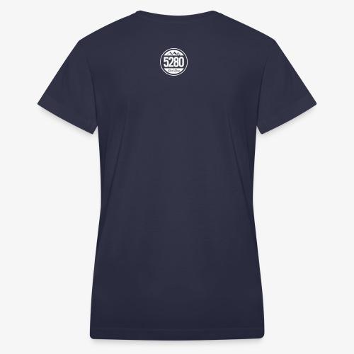 5280 Shirt Shop 10x10 - Women's V-Neck T-Shirt
