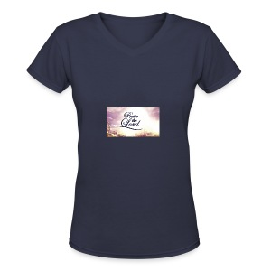 Praise The Lord T-Shirt - Women's V-Neck T-Shirt