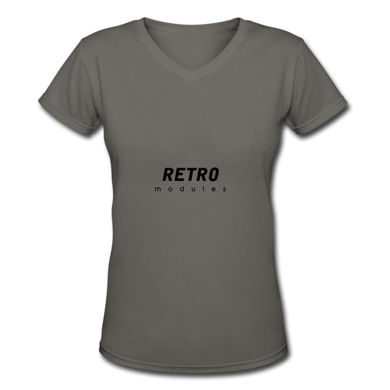 Retro Modules - sans frame - Women's V-Neck T-Shirt