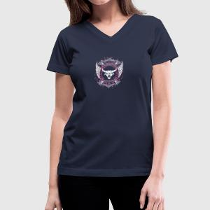 The best are born in May TAURUS - Women's V-Neck T-Shirt