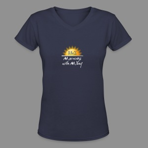 MWM Logo - Women's V-Neck T-Shirt