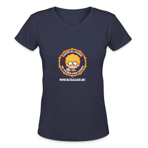 Tactical Geeks - Women's V-Neck T-Shirt