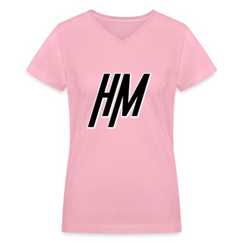 HypnoticMarc - Logo - Women's V-Neck T-Shirt