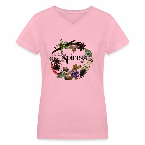 Spices - Women's V-Neck T-Shirt