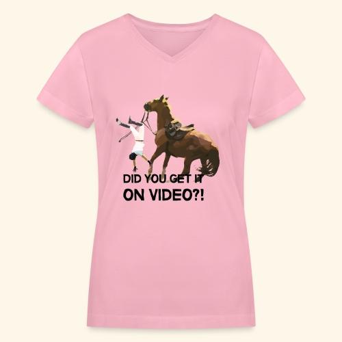 21 png - Women's V-Neck T-Shirt