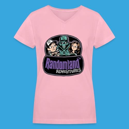 Spooky Buggy Parody - Women's V-Neck T-Shirt