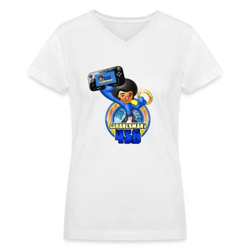 FULL MERGED png - Women's V-Neck T-Shirt