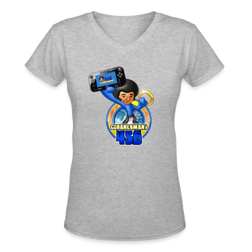 FULL MERGED png - Women's V-Neck T-Shirt