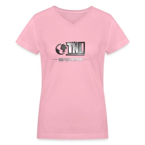 TNL 3D - Women's V-Neck T-Shirt