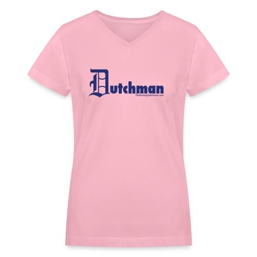 10 final dutchman d blue - Women's V-Neck T-Shirt