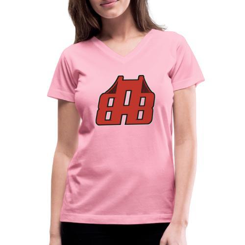 Bay Area Buggs Official Logo - Women's V-Neck T-Shirt