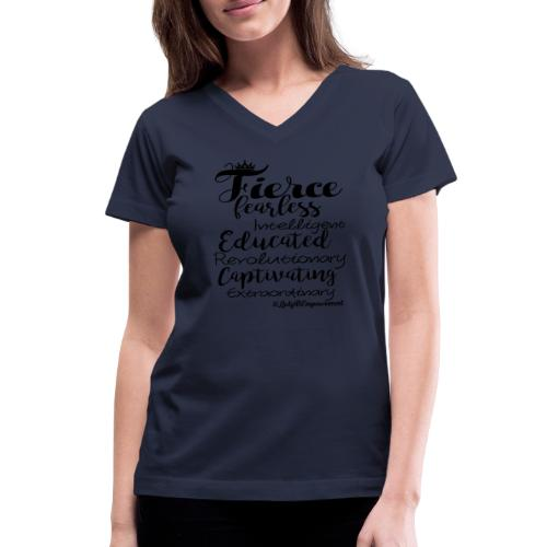 1 png - Women's V-Neck T-Shirt