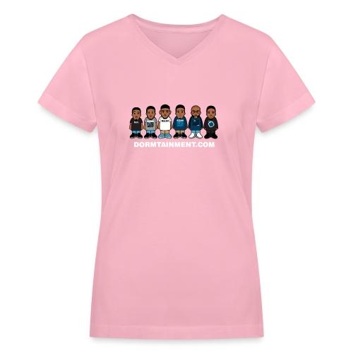 Women Not war - Women's V-Neck T-Shirt