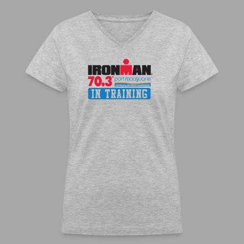 703 port macquarie it logo - Women's V-Neck T-Shirt