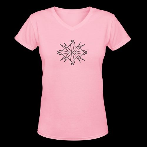 Chaotic - Women's V-Neck T-Shirt