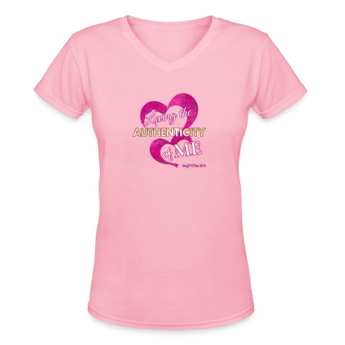The Tru YOU Collection by Miss BJB - Women's V-Neck T-Shirt