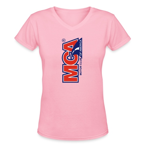 MCA Logo Iphone png - Women's V-Neck T-Shirt