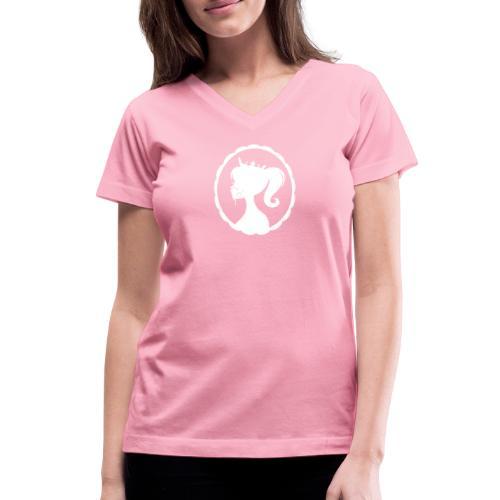 Cum Princess 2 - Women's V-Neck T-Shirt