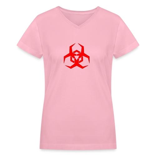 HazardMartyMerch - Women's V-Neck T-Shirt