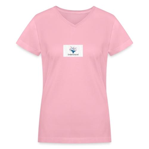Charity Logo - Women's V-Neck T-Shirt