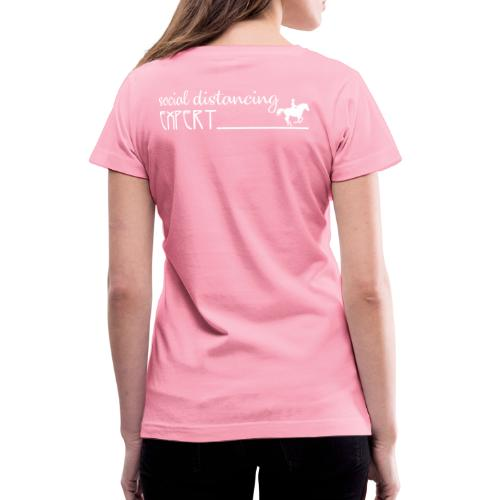 Social Distancing Expert - Women's V-Neck T-Shirt